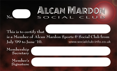 Examples Of Designs By Optical Design - Alcan Mardon Social Club